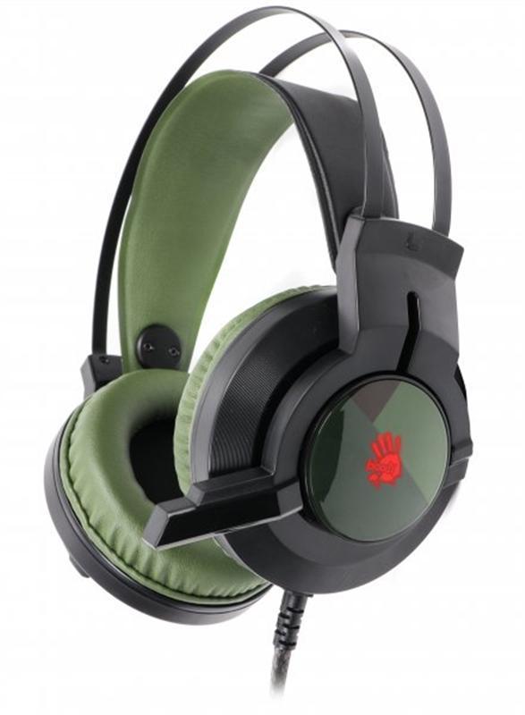 Гарнитура A4Tech Bloody J437 Army Green