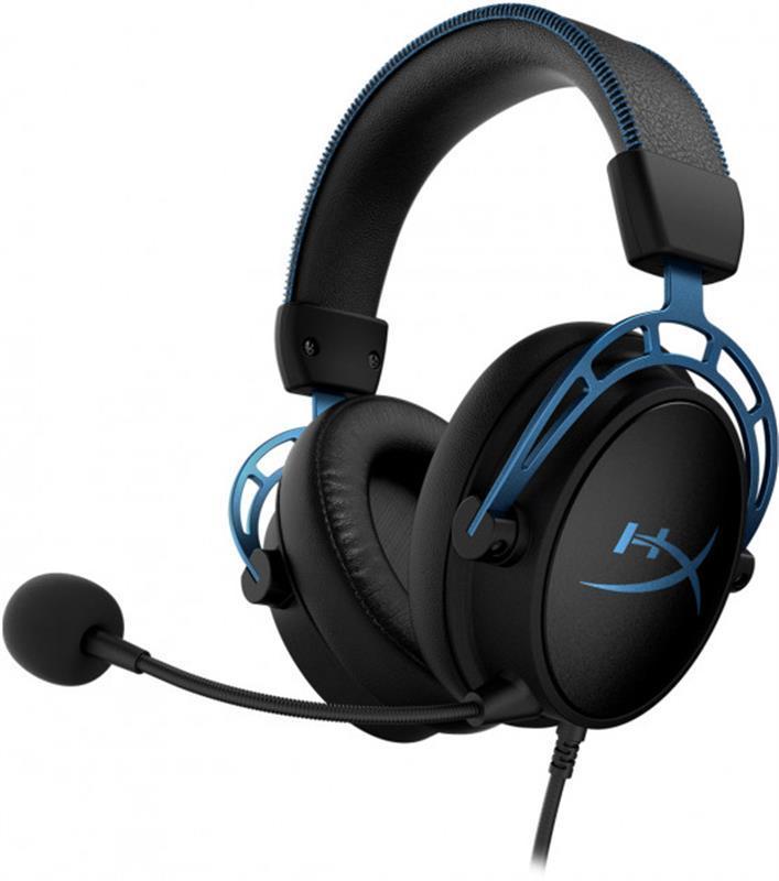 Гарнитура Kingston HyperX Cloud Alpha S Black/Blue (HX-HSCAS-BL/WW)