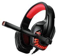 Гарнитура REAL-EL GDX-7650 Black/Red