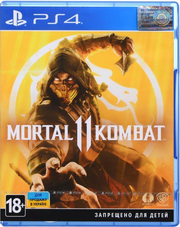 Игра Mortal Kombat 11 для Sony PlayStation 4, Russian subtitles, Blu-ray (2221566)