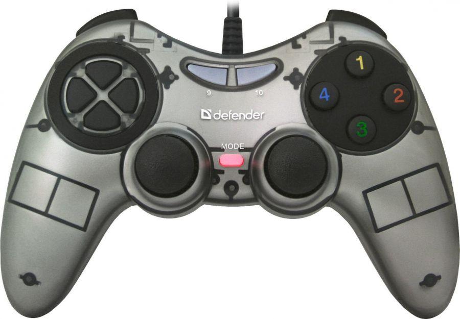 Геймпад Defender Redragon Zoom (64244) Silver USB