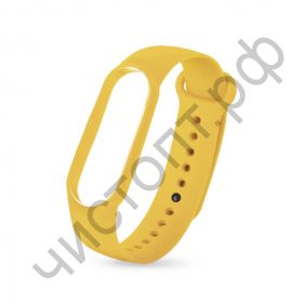 Ремешок для Mi 3/4 band silicon loop yellow