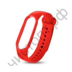 Ремешок для Mi 3/4 band silicon loop red
