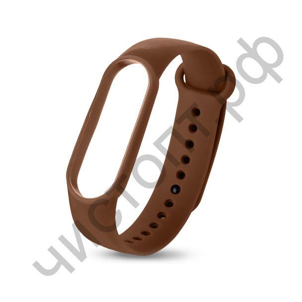 Ремешок для Mi 3/4 band silicon loop brown