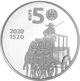 500 лет Почтовой службе Португалии 5 евро Португалия 2020 на заказ