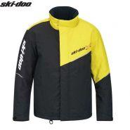 Куртка Ski-Doo Holeshot, Черно-желтая мод. 2021