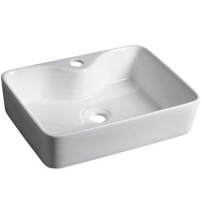 Раковина для ванной белая к столешнице GT206