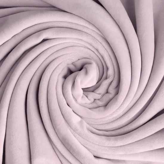 Мелковорсовый мех (ворс 1-2 мм) - цвет Серо-розовый 50*40