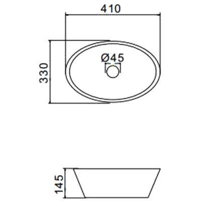 Раковина на столешницу Gappo GT304