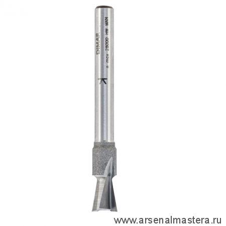 Пазовая конструкционная фреза ласточкин хвост твердосплавная Dimar D 9,5 x L 9,5-54 x S 12 мм 1040019