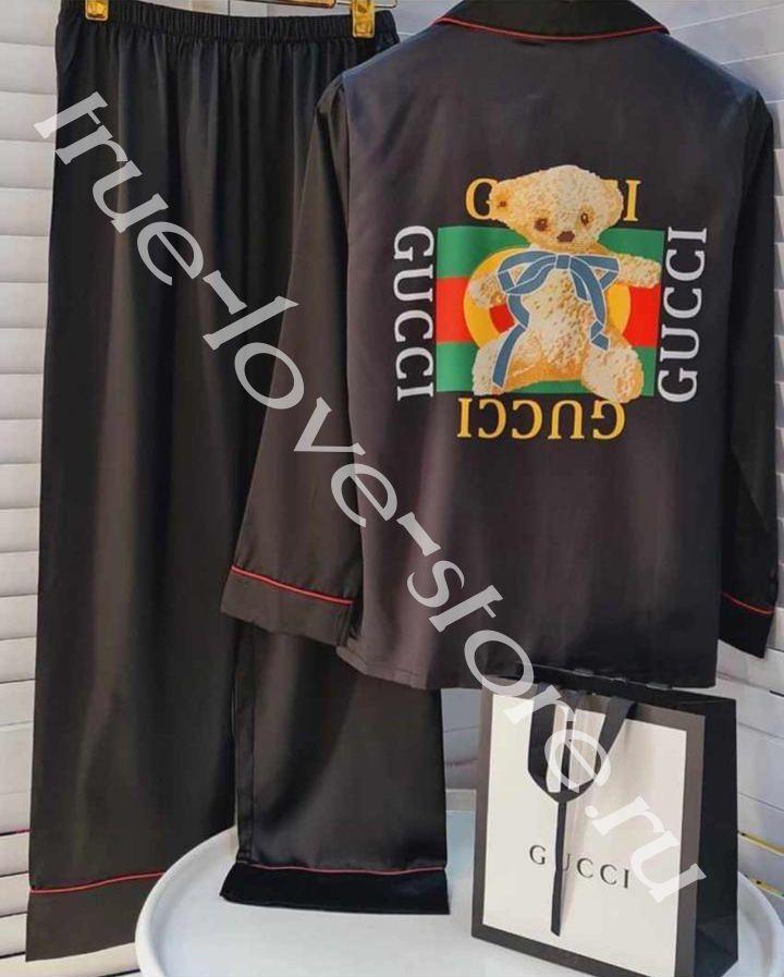 Z-930004 - Цена за 3 шт, Пижама двойка GUCCI (М,L,XL)