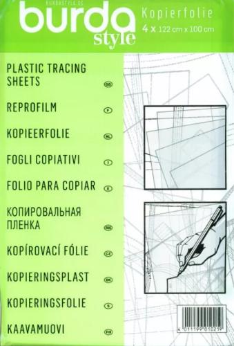 Плёнка Burda для копирования 122х100см (4 шт.)