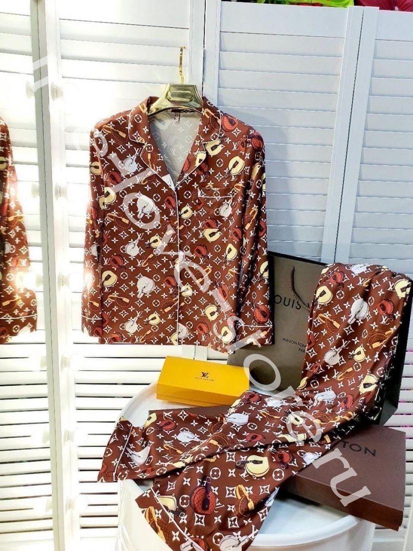 720179 -Цена за 3 шт, Пижама двойка LV сумочки(M,L,XL)