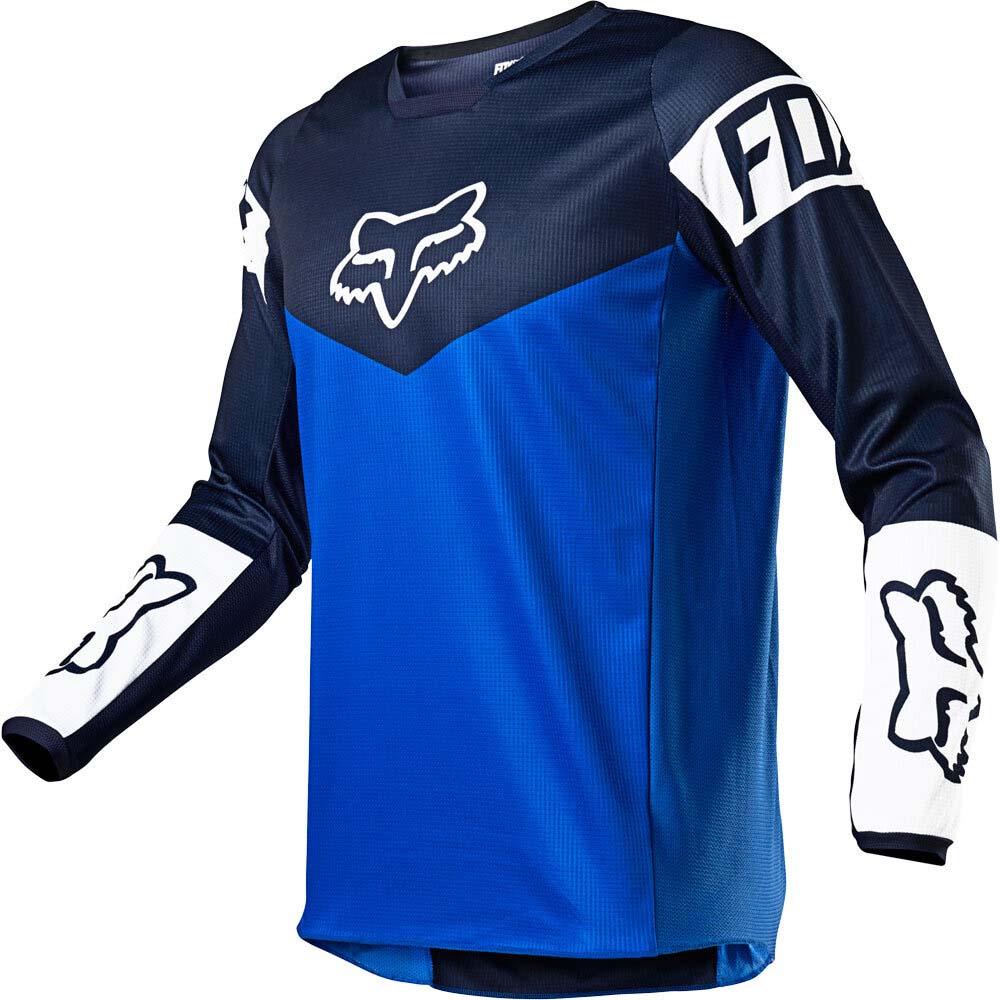 Fox 2021 180 Revn Blue джерси для мотокросса
