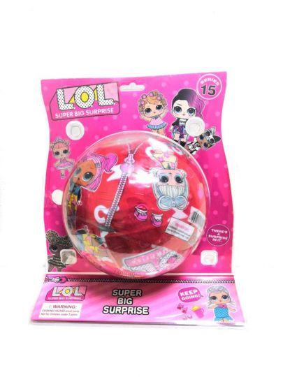 Кукла LOL Super Big Surprise, диаметр шара 15 см