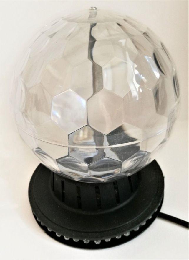 Светильник Шар-призма на подставке, 16 см
