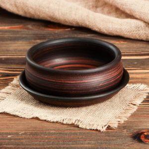Горшок для кактусов и суккулентов «Бонсайница», ? 17 см, дымленый  5153056