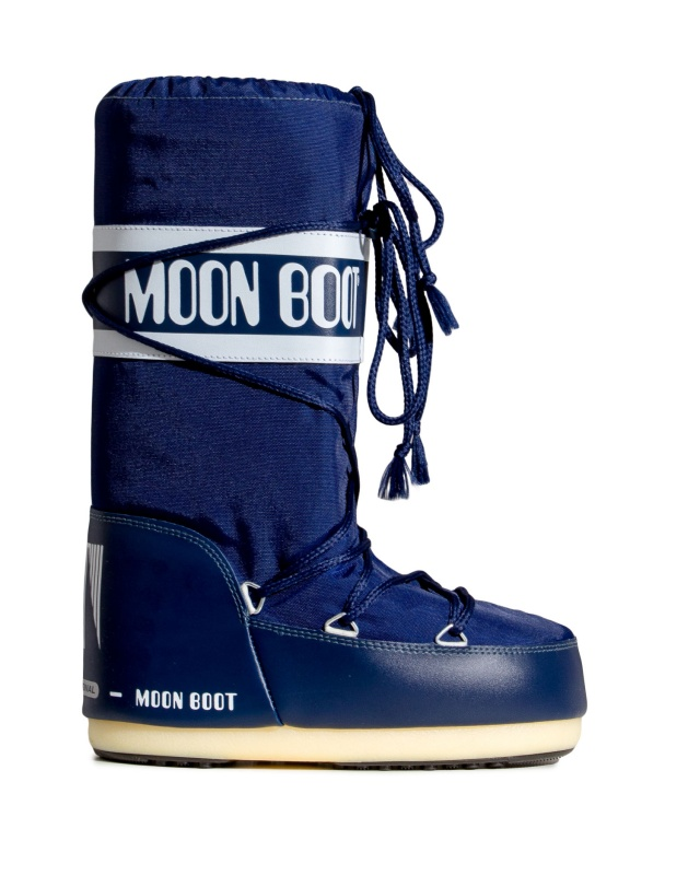 Moon Boot Nylon Blue / 35-38, 45-47.