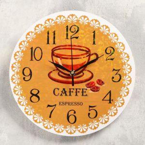 "Часы настенные ""Эспрессо"", d-23.5.  плавный ход 5234003"