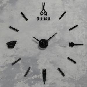 """Часы """"Парикмахеру"""", d=70 см, стрелки 22,5 см, 16.5 см, 1АА, плавный ход   5200577"""