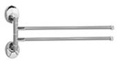 Полотенцедержатель раздвижной двойной