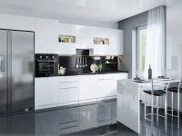 Модульная кухня Фьюжн-01 в цвете Angel