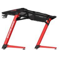 Геймерский стол 1stPlayer GT1 Black-Red + Подарок Коврик для мыши BK-39-H (900x350x5 мм)
