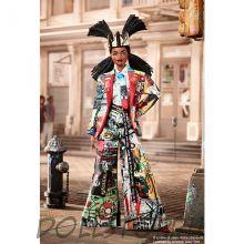Коллекционная кукла барби Жан-Мишель Баския - Jean-Michel Basquiat X Barbie Doll
