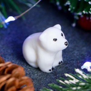 """Мыло фигурное """"Белый медвежонок"""" 10г   4142686"""