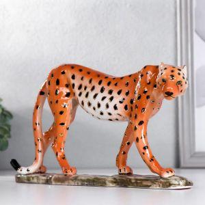 """Сувенир керамика """"Гепард"""" 15х26,8х5,2 см   5066095"""