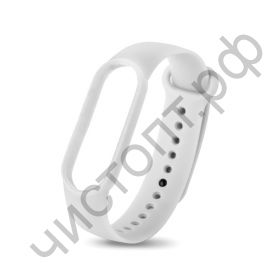 Ремешок для Mi 3/4 band silicon loop white
