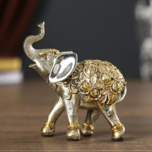 """Сувенир """"Слон в розах"""""""