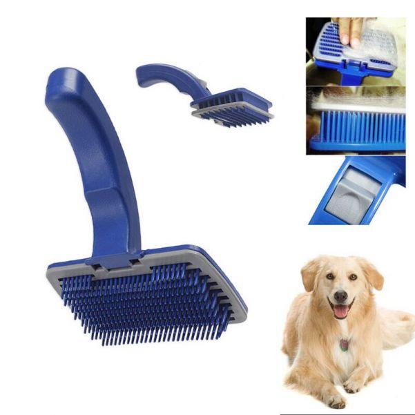 Самоочищающаяся щётка для животных Self-Cleaning