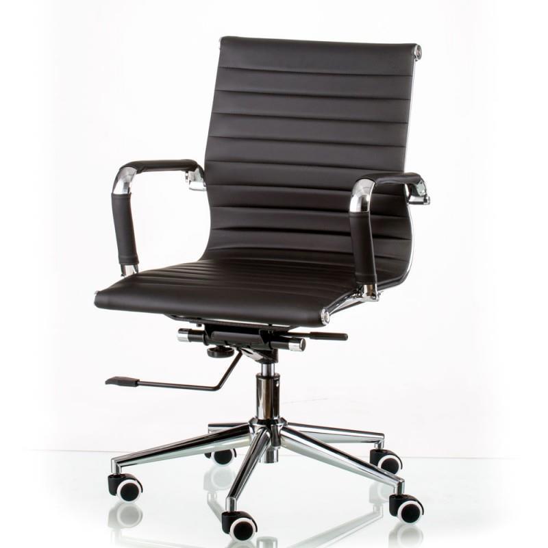 Кресло офисное Special4You Solano 5 Artleather Black (E5340)