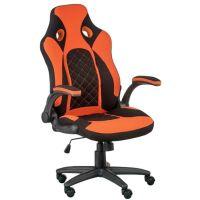 Кресло офисное Special4You Kroz Black/Red (E5531)