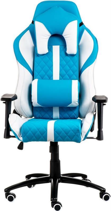 Кресло офисное Special4You ExtremeRace Light Blue/White (E6064)