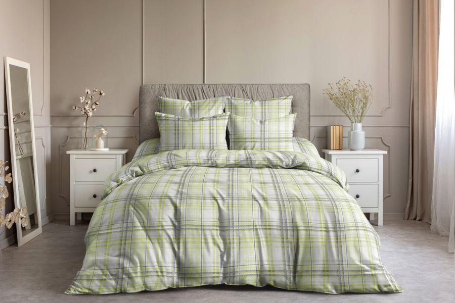 Поплин [зеленый] Гарди постельное белье