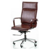Кресло офисное Special4You Solano 4 Artleather Brown (E5227)