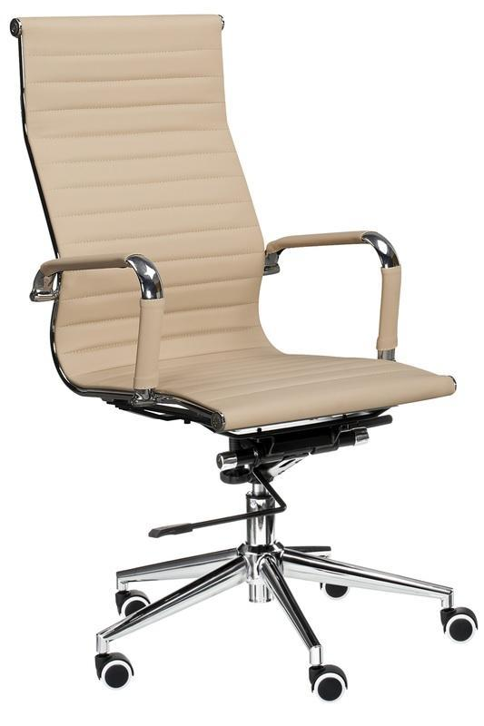 Кресло офисное Special4You Solano Artleather Beige (E1533)