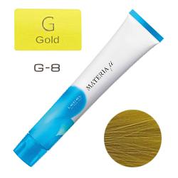 Lebel Materia µ Layfer G8 - Тонирующая краска лайфер, Светлый блондин золотой 80гр