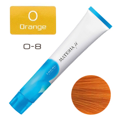 Lebel Materia µ Layfer O8 - Тонирующая краска лайфер, Светлый блондин оранжевый 80гр