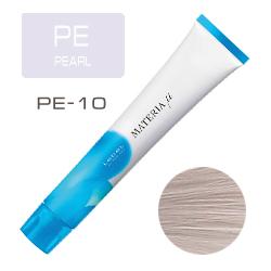 Lebel Materia µ Layfer PE10 - Тонирующая краска лайфер, Яркий блондин перламутровый 80гр