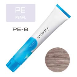 Lebel Materia µ Layfer PE8 - Тонирующая краска лайфер, Светлый блондин перламутровый 80гр