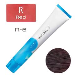 Lebel Materia µ Layfer R6 - Тонирующая краска лайфер, Тёмный блондин красный 80гр