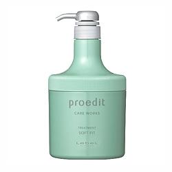 Lebel Proedit Home Charge Soft Fit Treatment - Маска для жестких и непослушных волос 600 мл