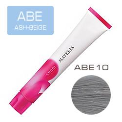 Lebel Краска для волос Materia ABE10 - Яркий блондин пепельно-бежевый 80 гр