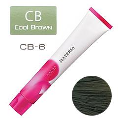 Lebel Краска для волос materia CB6 - Темный блондин холодный коричневый 80 гр