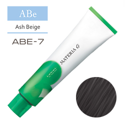 Lebel Краска для волос Materia G Тон ABE7 - Блондин пепельно-бежевый  120 гр.