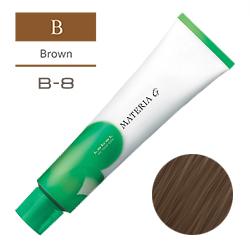 Lebel Краска для волос Materia G Тон B8 - Светлый коричневый 120 гр
