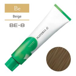 Lebel Краска для волос Materia G Тон BE8 - Светлый блондин бежевый 120 гр.